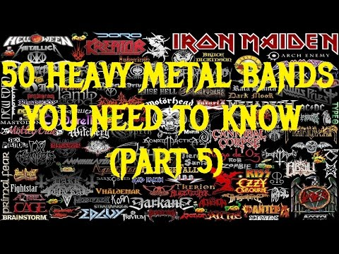 50 HEAVY METAL BANDS You Need to Know (Part 5: #10-#1)