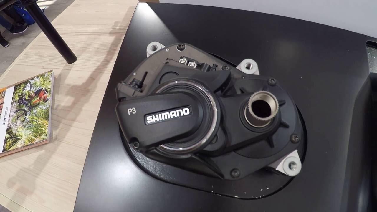 EUROBIKE 2016 - Shimano STEPS MTB E8000 parts