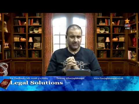 Legal Solutions with Harjap Bhangal - 19.06.2020