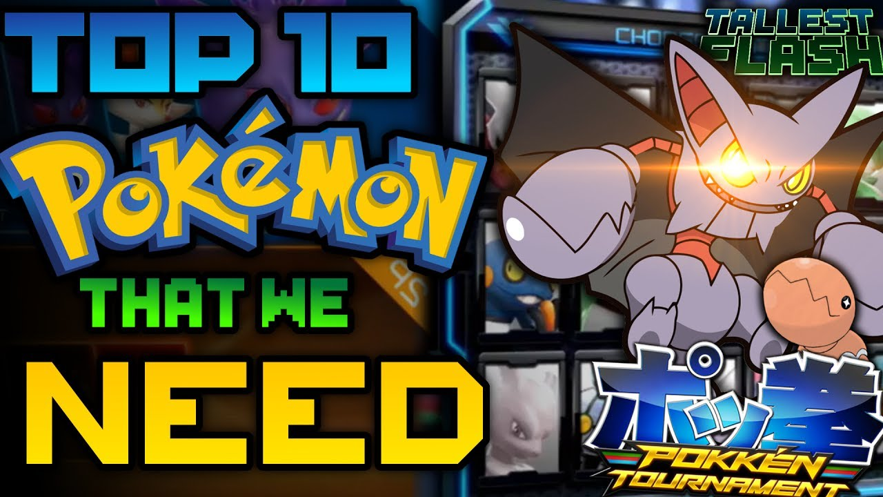 pokken tournement dx top 10 pokemon that need to be added