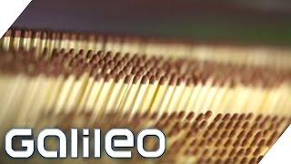 So entstehen Sreichhölzer in 200 Arbeitsstunden   Galileo   ProSieben
