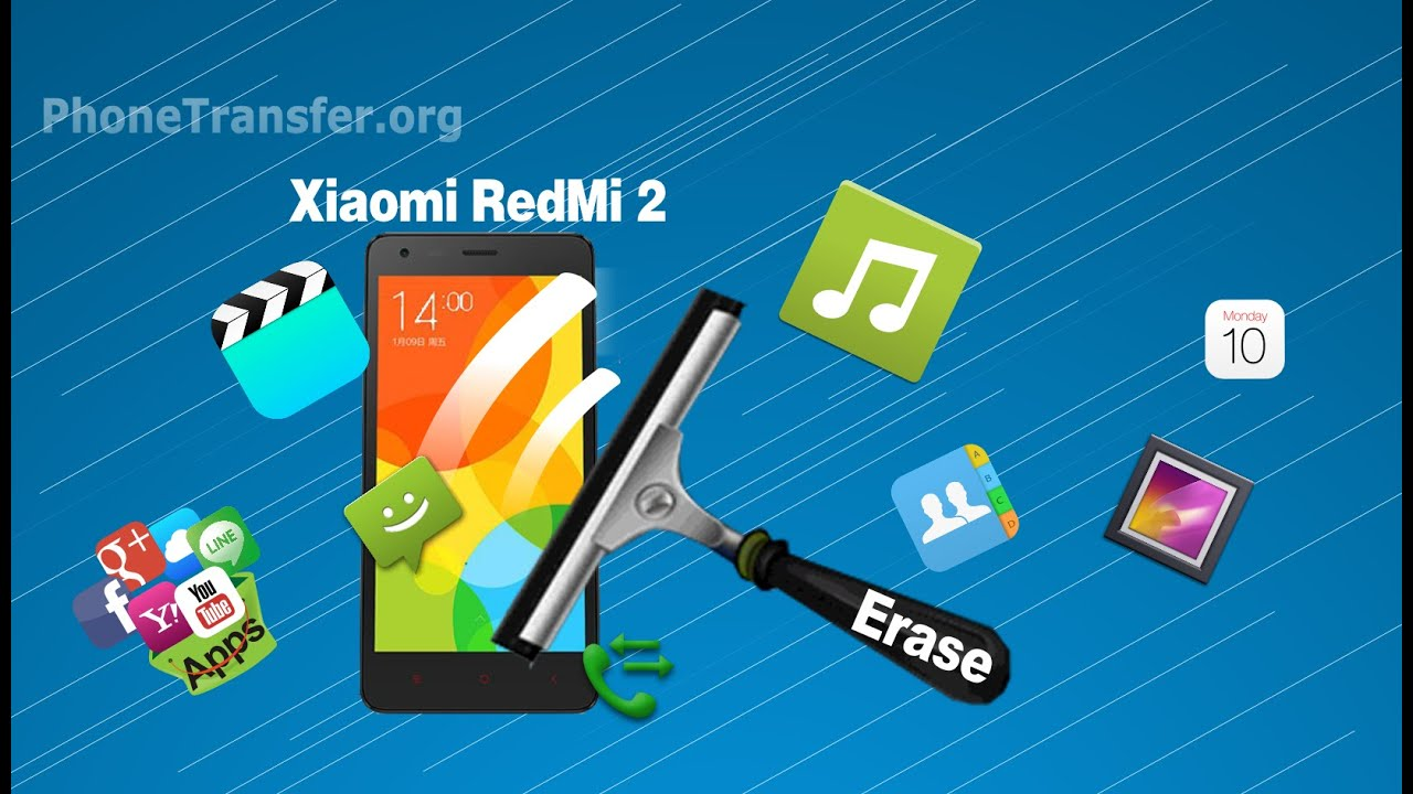 Clean All Data From Redmi 2  Permanently