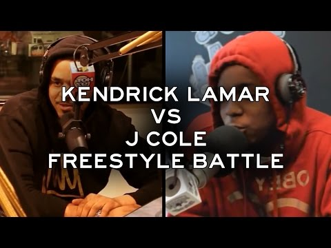 Kendrick Lamar vs. J Cole - The Freestyle Battle [HD]