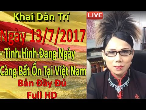 Khai Dân Trí - Lisa Phạm Ngày 13/7/2017