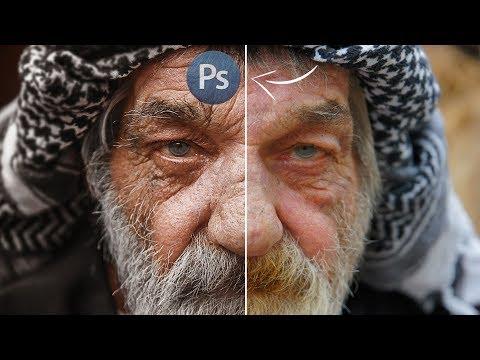 Обработка в Фотошопе!!!  Жанровый портрет !!! ПРОФЕССИОНАЛЬНЫЙ МЕТОД !!!