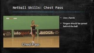 Basic Netball Skills & Rules