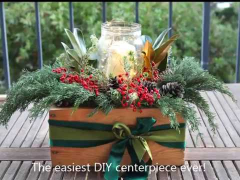 Easiest DIY Centerpiece & Christmas Table Decorations !