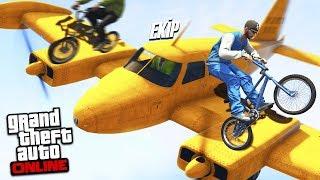 EN EFSANE UÇAKLAR VS İMKANSIZ BMX PARKURU !! (PRO GERİ DÖNDÜ !!) - GTA 5 Online (Sesegel,Ümidi,Ozan)