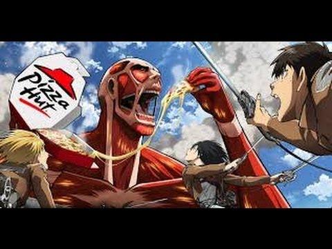 Atack On Titans Con Juan Y Gente Gigante Desnuda