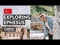 Ancient Epicness - Ephesus & Troy History | Turkey Vlog | Travel Talk Tours #4