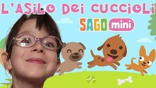 Giulia e il Videogioco L' Asilo dei Cuccioli - Sago Mini Puppy Preschool