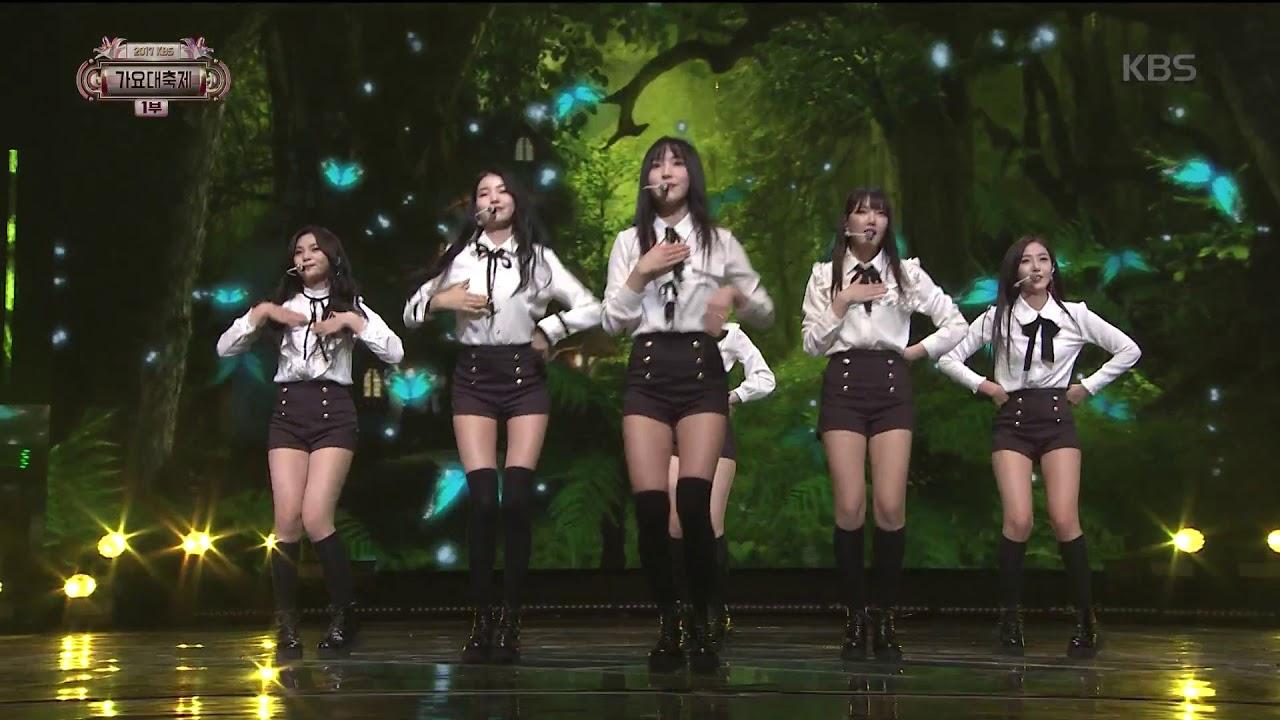 2017 KBS가요대축제 Music Festival - 여자친구 - 귀를 기울이면 (LOVE WHISPER - GFRIEND). 20171229