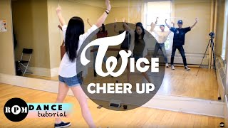 "Twice ""Cheer Up"" Dance Tutorial (Pre-Chorus, Chorus)"
