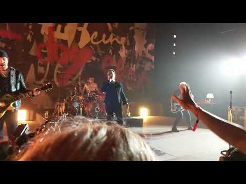 U2 Who's Gonna Ride Your Wild Horses At The Apollo Theater 6-11-2018