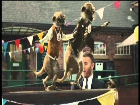 Gary Barlow Let Me Go Meerkat Advert