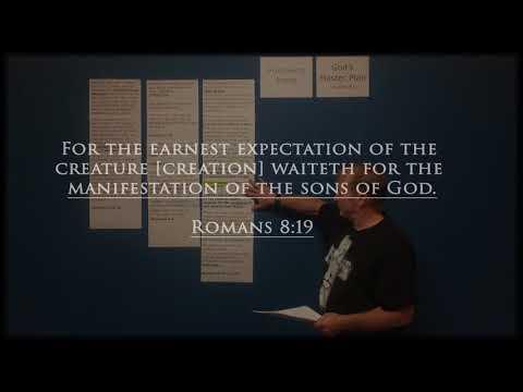 Following Jesus series - lesson #1 - Gods Master Plan -  9/25/2017