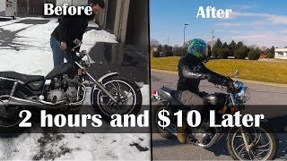 Buying a $700 Craigslist motorcycle
