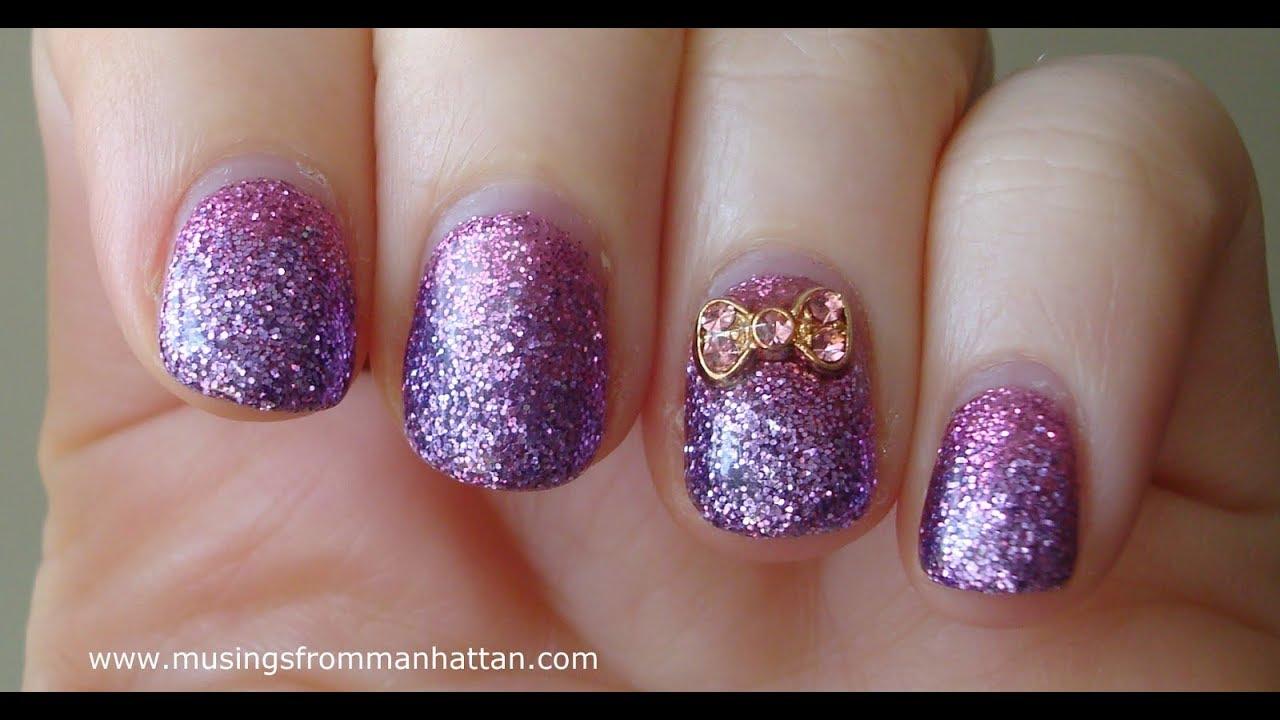 Mirror nails nail art effetto specchio mirror nails amber nails youtube - Nail art a specchio ...