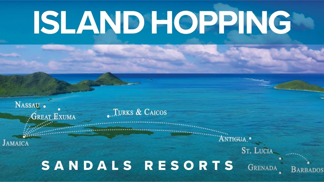 97bca129a Sandals Resorts - Island Hopping - YouTube