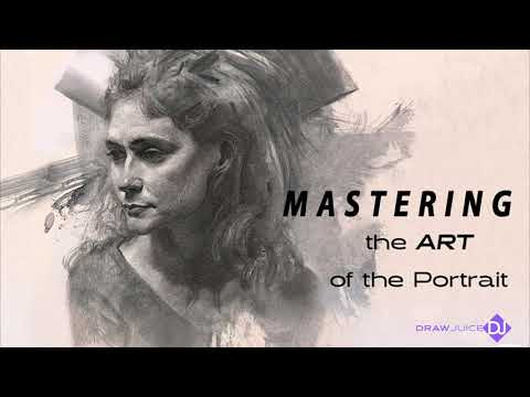 In this video I show you how to start portraits fast with gesture.