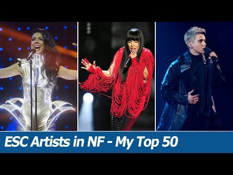 Eurovision Artists In National Finals (2003-2018) | My Top 50 Favs