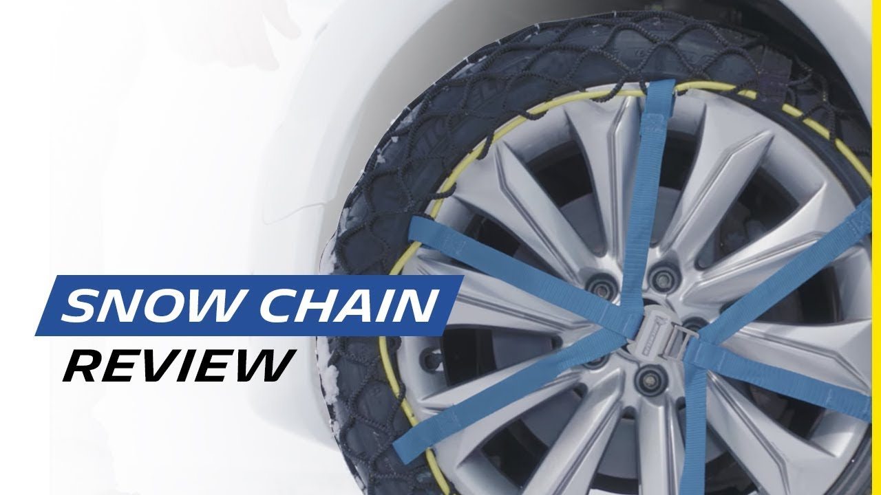 Set of 2 MICHELIN 008309/Easy Grip Snow Chains Evolution Group 9
