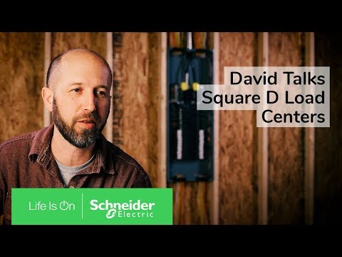David The Contractor Talks About Square D Load Centers with Qwik-Grip Wire Management System