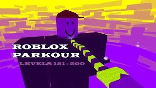 Roblox Parkour: Levels 151 - 200 (Without Noob way) | Kogama