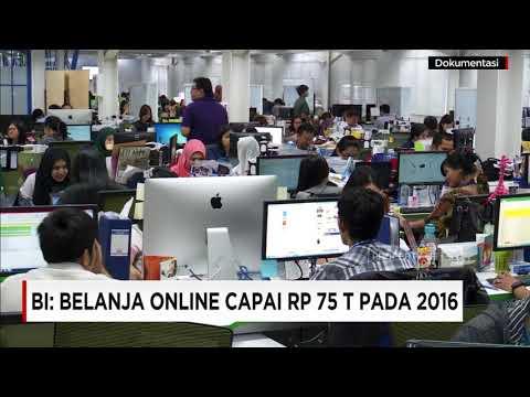 BI: Belanja Online Capai Rp 75 T Pada 2016