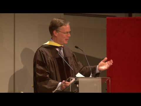 AUP Graduation: Honorary Degree Recipient Ambassador Nicolas Burns