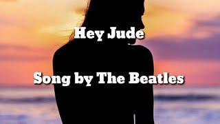 The Beatles - Hey Jude (Lyric Video)