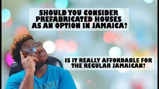 BUYING A |TINY HOUSE | PREFAB HOUSE| JAMAICA|REAL ESTATE