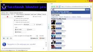 How To Use FBP Facebook Blaster Pro  Facebook Blaster Lead Generator Tutorial