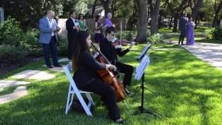 San Antonio Wedding Music Bless The Broken Road Cover by Rascal Flatts Violin Cello