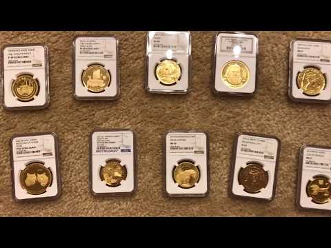 NEVER SEEN BEFORE Large Gold Bullion Coins from Asia
