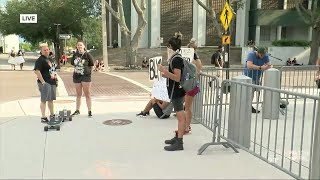 Peaceful protests continue in Tampa Bay area in wake of George Floyd's death