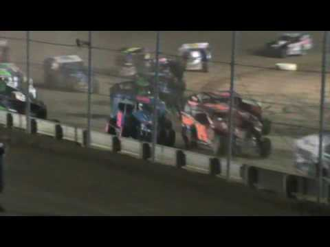 Kyle Martell Rush Sportsman Modified Feature Race Sharon Speedway 6/25/16