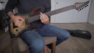 New Solar Guitars S1.6 Evertune Poplar Burst