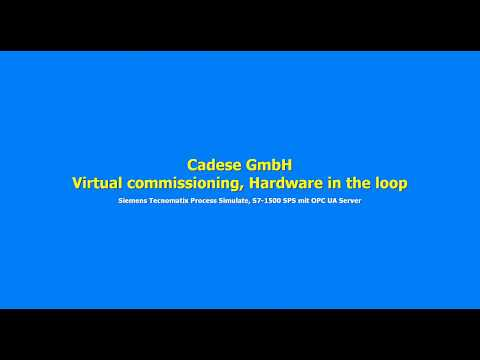 Cadese GmbH,  virtual commissioning