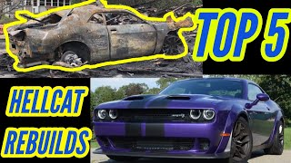 Burnt Hellcat Resurrection: Anything Is Possible