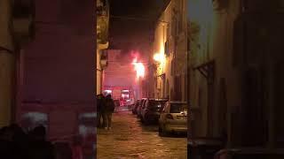 Incendio Manduria 12 febbraio 2019