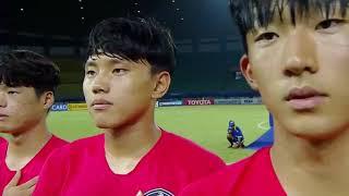Detik - detik kesalahan memutar lagu kebangsaan Korea Selatan di AFC U19 PSSI dan AFC Minta Ma'af