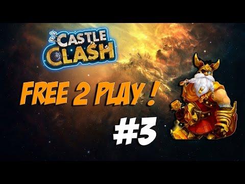 Castle Clash Free 2 Play Series #3 - Phantom King Pack & Talent Quest!