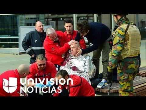 Atentados en Bélgica dejan al menos 30 muertos y 230 heridos