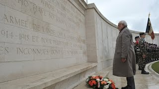 PM Modi pays homage to Indian Soldiers at WW1 Memorial in Neuve-Chapelle