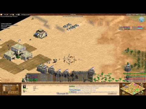 AoE2 - 2k+ Teamgame! 3v3 Arabia