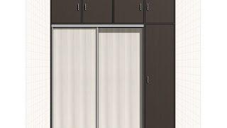 видео Встроенные шкафы купе в комнату