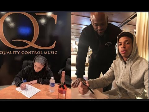 CONGRATS! QC Signs First Singer Layton Greene,Memphis' NLE Choppa Turns Down 3 Mil But Keeps Masters