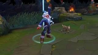 3D MODEL Snow Man Yi Skin Spotlight - League of Legends