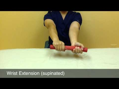Tennis Elbow Exercises For Rehab and Pain Relief